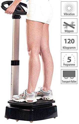 newgen medicals Vibrationsplatten: Vibrations-Home-Trainer WBV-420.H (Vibrationsplatte Sport)