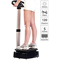 Preisvergleich für Newgen Medicals Vibrationsplatte: Vibrations-Home-Trainer WBV-420.H (Muskeltrainer Vibration)