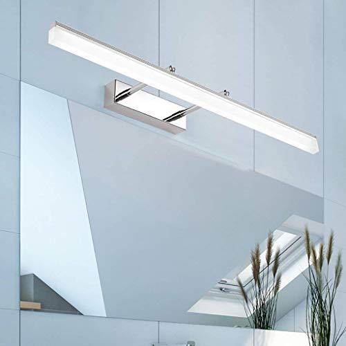 YJD Einstellbare Teleskop LED Spiegel Scheinwerfer Spiegel Kabinett Lampe Badezimmer mit einfachen Wandleuchte Hardware Material Make-up Lampe,Weißes Licht 70cm -