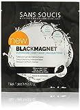 Sans Soucis Sans Soucis Black magnetica in tessuto non tessuto maschera–Profondità Reinig fine Intenso Maschera con carbone attivo per tutti i tipi di pelle, contro le impurità, 16ML