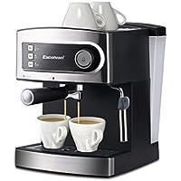 Excelvan 15 Bar Pump Espresso Italian Style Coffee Machine - Hot Drinks, Cappuccino & Coffee Maker 850W