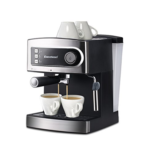 , Excelvan 15 Bar Pump Espresso Italian Style Coffee Machine – Hot Drinks, Cappuccino & Coffee Maker 850W, Best Coffee Maker, Best Coffee Maker