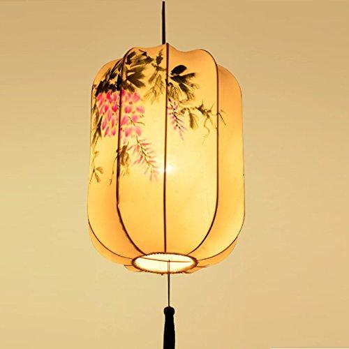 Top-selling-laterne (LHP Chinesische klassische Kronleuchter Tuch Restaurant längliche handgemalten antiken Kronleuchter Schlafzimmer Wohnzimmer Kronleuchter Halle Laternen High-End ( ausgabe : 8700-B ))