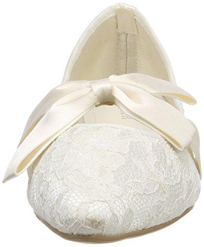 Menbur Wedding Miriam, Chaussures De Mariage Pour Femme Ivoire (ivoire)