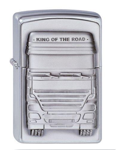 Zippo 200 King of The Road Emblem Feuerzeug, Messing