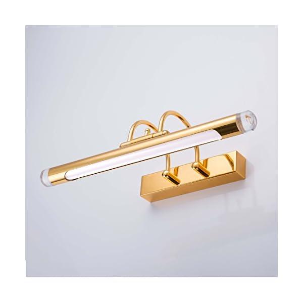 Lampe Pour Salle De Bain Miroir 6w 41cm Led Applique Murale Moderne