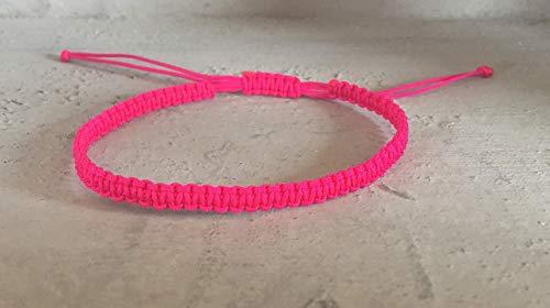 DIY Armband Armkette *geknüpft* verschiedene Farben Handmade