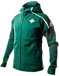 adidas Anth Jkt Chaqueta Línea Real Betis Balompié, Hombre, Verde (Veruni), XL