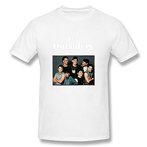 BlessVanish Men's The Outsiders Band T Shirt