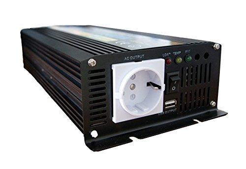 Convertisseur 12V 220V 1500W – signal quasi sinus – Expédié depuis la France Magasin en ligne