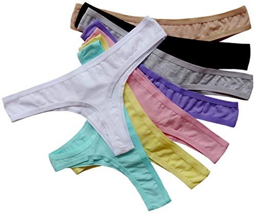 abclothing-6-pezzi-da-donna-traspirante-cotone-perizoma-intimo-per-bikini-colore-nero
