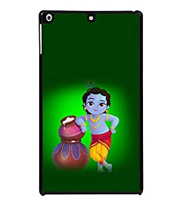 printtech Lord God Krishna Back Case Cover for Apple iPad Air 2