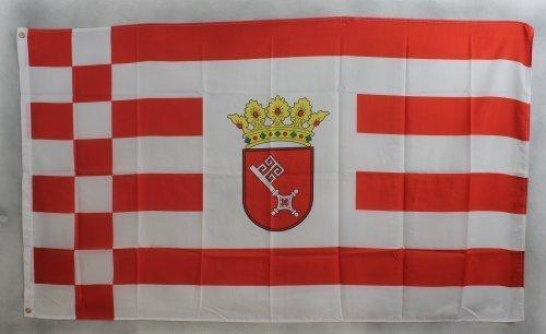 Flagge Fahne ca. 90x150 cm : Bremen bremer Bremenflagge