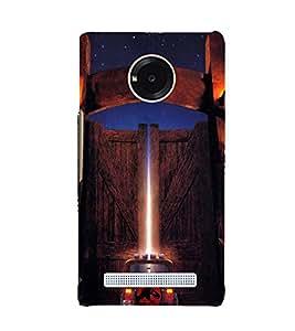 EPICCASE Jurassick world Mobile Back Case Cover For YU YUNIQUE (Designer Case)