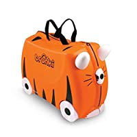 "Trunki  Ride-On Suitcase: ""Tipu"" Tiger print"