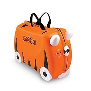 Trunki Tipu Tiger Valigia per bambini, 46 cm, Arancione