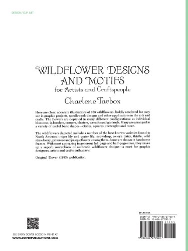 Wildflower Designs and Motifs for Artists and Craftspeople (Dover Pictorial Archive)