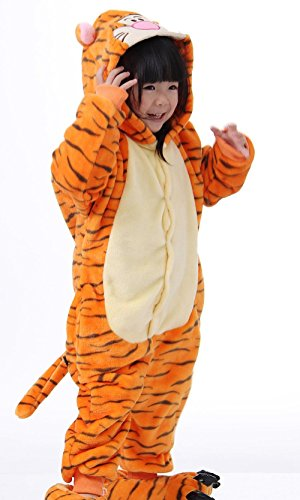 Padgene-Slipper-Pantoufle-de-Pyjama-Combinaison-Animaux-Cosplay-Costumes-Halloween-Enfant-Unisexe