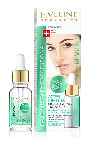 EVELENE Face Therapy aktive DETOX Feuchtigkeitspflege, 18 ml -