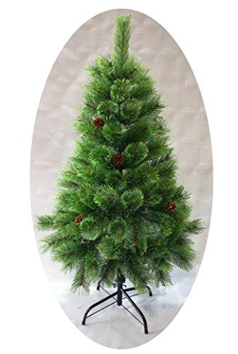 Árbol de Navidad Artificial de Pino con Ramas de Puntas Abiertas y...
