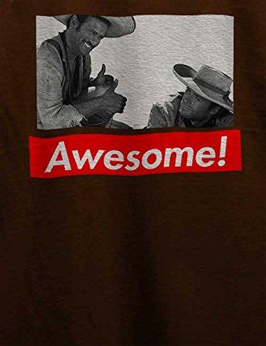 Awesome 82 T-Shirt Braun