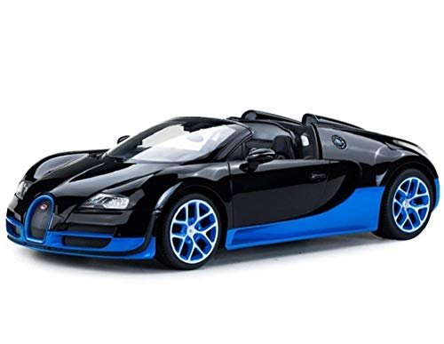 Rastar - 70400bkbl - 70400s - Voiture Radiocommandé - Bugatti Veyron Grand Sport - Echelle 1/14