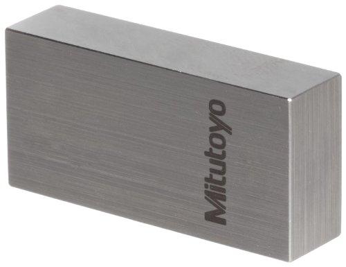 Mitutoyo 611205-531 Gauge Block, einzeln, rechteckig, ASME Grade 0, Stahl, 12,7 cm Nenngröße -