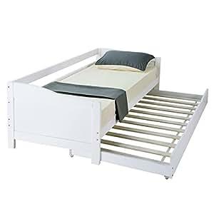 Hst mall letto singolo per ospiti con letto estraibile for Letto per ospiti