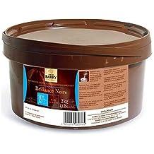 Cacao Barry - Cobertura Brillante Chocolate Negro, 2 kg