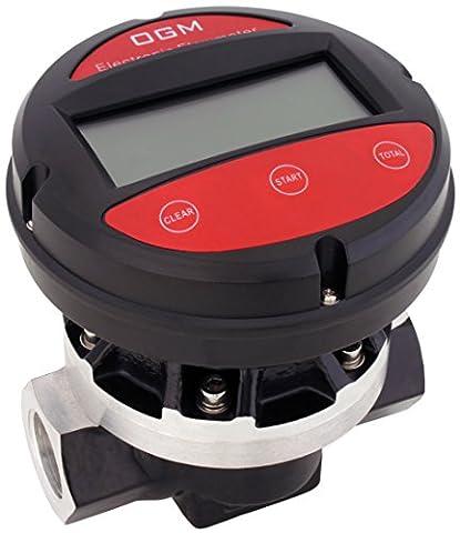 'Blurea Flow Sensor Digital Counter 2x1, Measures up to 120Litres Per Minute Flow Lever, Workers Female Thread