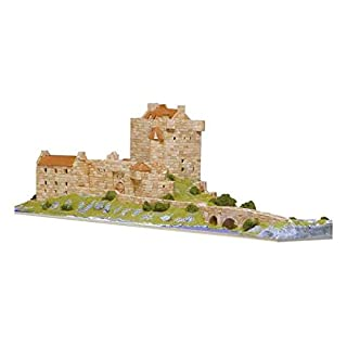 Aedes 1011 Eilean Donan Castle Model Kit, 37 x 26 x 7 cm, Multi-Color