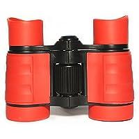 Kids Binoculars Compact Mini Binoculars for Children, Rubber 4x30 Adjustable Lightweight Binoculars Telescope Toy, Children Educational Gifts for Bird Watching, Outdoors, Climbing by ManKn