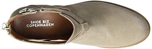 Shoe Biz Short Boot, Bottes Classiques Femme Beige (Sand Suede)