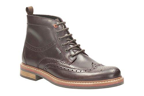 ClarksDarby Rise GTX - Stivali classici imbottiti a gamba corta Uomo Marrone (Chestnut Leather)