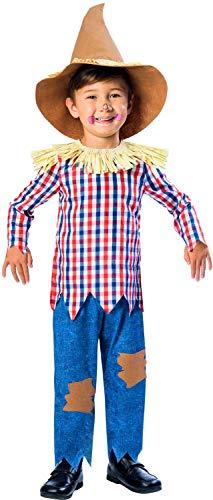Fancy Me Halloween-Kostüm für Jungen und Mädchen, Vogelscheuche