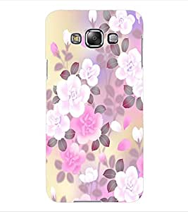 ColourCraft Floral Design Back Case Cover for SAMSUNG GALAXY GRAND 3