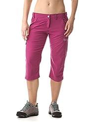 Nordblanc Mujer Corto Outdoor Pantalones 3/4Longitud facility, primavera/verano, mujer, color rosa - rosa, tamaño 36 [DE 34]