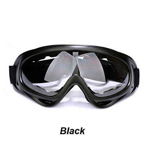 Outstanding® Struttura di Vetro Dell'Occhio Snowboard Antipolvere Moto Occhiali da Sci Lens
