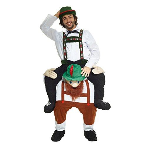 (Morph MCPBBM - Lederhosen Huckepack Kostüm - Uni Größe)