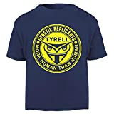Cloud City 7 Blade Runner Tyrell Replicants Logo Baby and Toddler Short Sleeve T-Shirt
