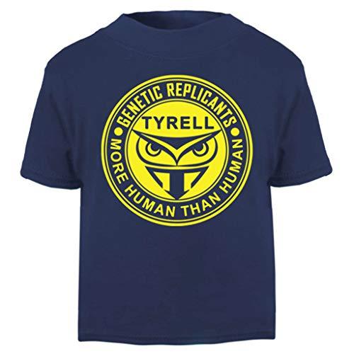 Kostüm Deckard Runner Blade - Blade Runner Tyrell Replicants Logo Baby and Toddler Short Sleeve T-Shirt