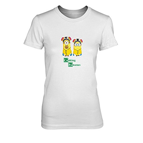 Cooking Bananas - Damen T-Shirt, Größe: M, Farbe: (Figur Kostüme Breaking Bad)