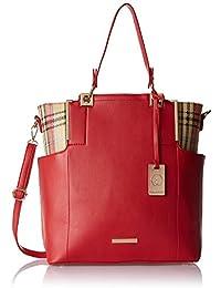 Stella Ricci Women's Shoulder Bag (Red) (SR219HRED)