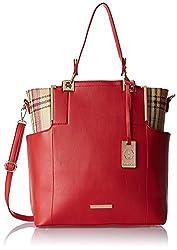 Stella Ricci Womens Shoulder Bag (Red) (SR219HRED)