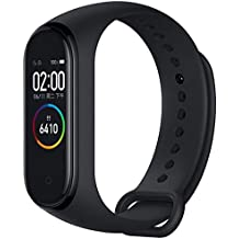 Jiyatech Compatible M4 Plus Smart Band OLED Touch Display Activity Tracker Fitness Band Waterproof & Sweatproof Long Battery Life Suitable for All Android & iOS Devices