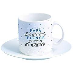 Idea Regalo - My Custom Style tazzina Espresso # Festa del papà - Nessuno uguale #