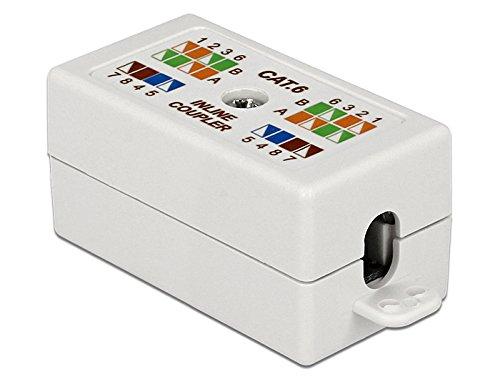 DeLock Netzwerk Adapter Verbindungsmodul LSA werkzeugfrei Cat.6 UTP