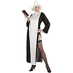 Widman - Disfraz de monja sexy para mujer, talla M (S/39262)