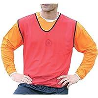 Precision Plain Mesh Training Bib Sports Football Vest Sportswear White rrp£9