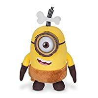 From this summer's hotly anticipated Minions Movie where Kevin, Bob, and Stuart are on the ultimate quest to find a new supervillain to serve comes a new line of Minions Plush.Minions Movie Plush Caveman Minion Plush is approximately 13cm - 1...